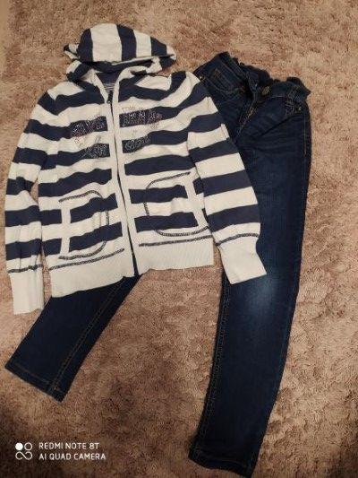 Spodnie firmy Next i bluza Pepe Jeans - 128 Olsztyn - image 1