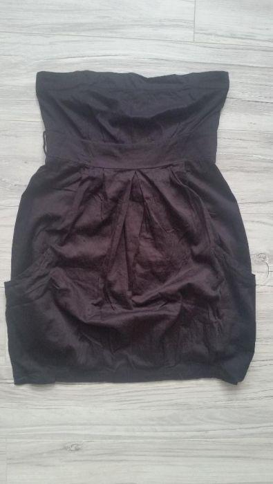 letnia sukienka bawełniana bombka Bershka r. S Gliwice - image 1
