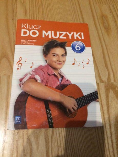 Klucz do muzyki 6 zeszyt ćwiczeń
