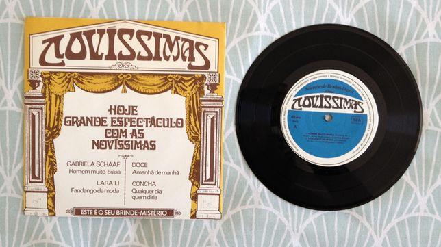 """Disco Vinil """"Novíssimas"""""""