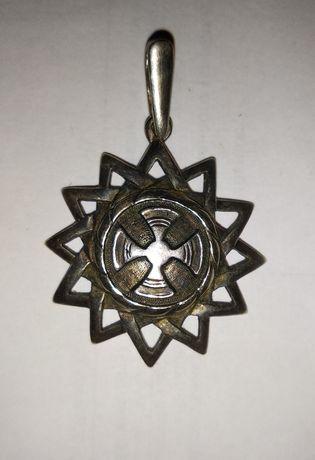Кулон Звезда Эрцгаммы. Серебро.