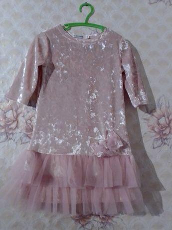 Платье-туника на девочку