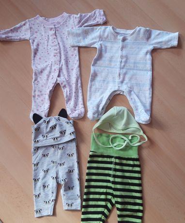 Ubranka niemowlęce rozmiar 50