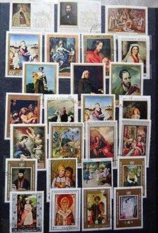 Znaczki pocztowe - klaser album kolekcja zbiór
