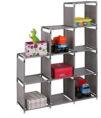 OUTLET - regał półki szafa na zabawki buty organizer