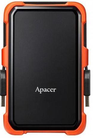 """Накопитель внешний HDD 2.5"""" USB 2.0TB Apacer AC630Black/Orange"""