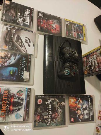 PlayStation 3 + 9 jogos