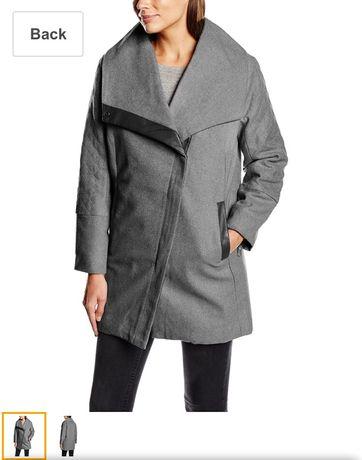 Срочно! новое Sublevel пальто шерсть тёплое m l 44 46 48 серое чёрное