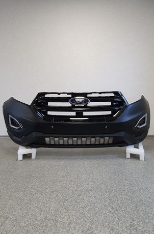 Бампер под ДХО и 6 парктроников оригинал на Форд Едж (2015-) в наличии