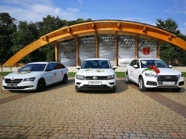 Skoda Superb, Audi Q5, VW Tiguan SAMOCHÓD DO ŚLUBU Szczekociny