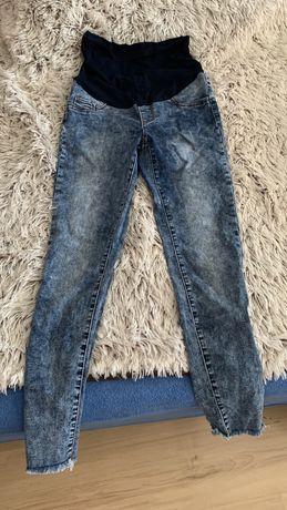 Ciążowe spodnie shein r. S