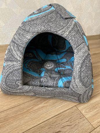 Будка мягкая для собаки/кота #2 60 см лежанка