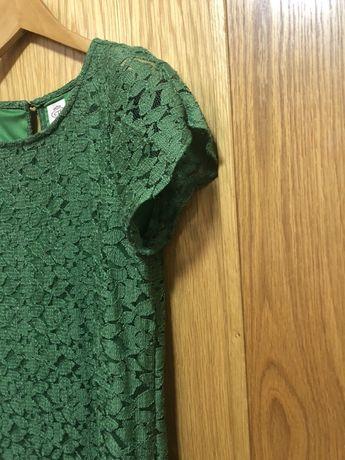 Vestido verde cortefiel tamanho M de renda
