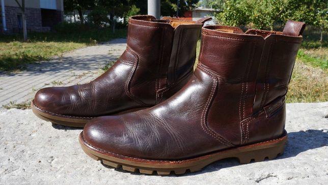 Чоловічі демісезонні ботінки, черевики Clarks