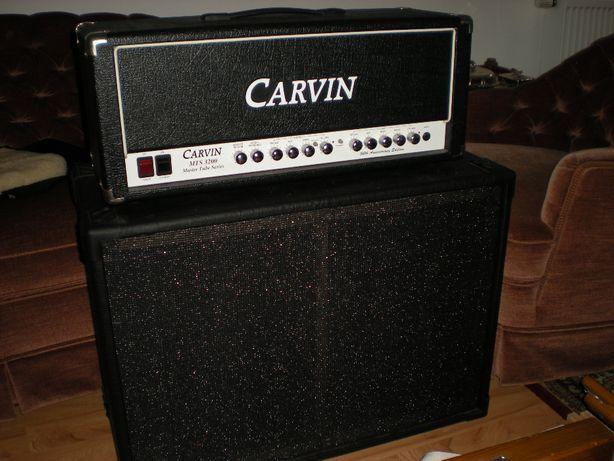 Głowa lampowa Carvin 100W + kolumna na Celestion 2x12