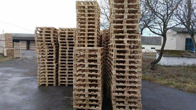 Паллеты деревянные стандартные 1200х800 и других размеров