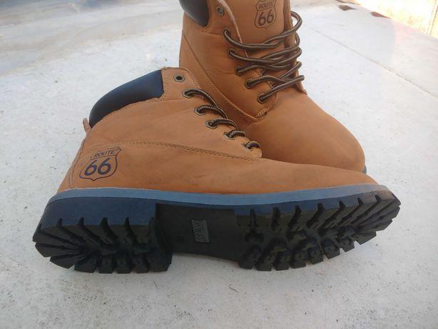 Ботинки нубук новые бренд роут66 привезены из Германии рр39