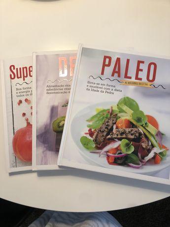 Livros cozinha saudável