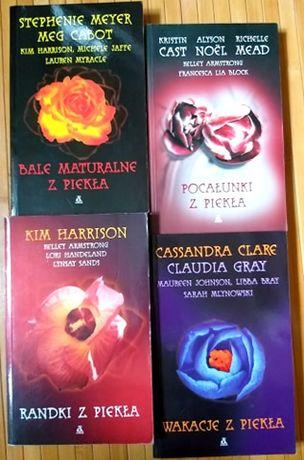"""Książki/ opowiadania paranormalne """"... z piekła"""" Stephanie Meyer i in"""