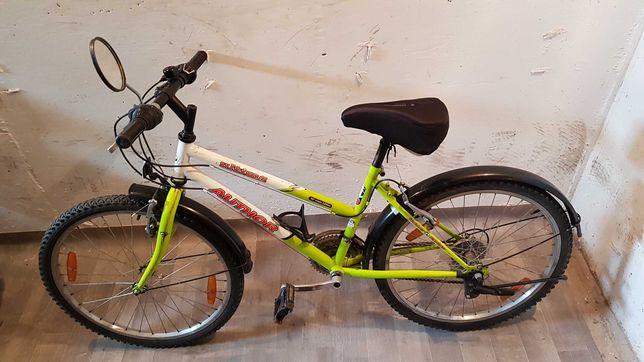 Rower dziecięcy młodzieżowy AUTHOR Ultima 24 cale