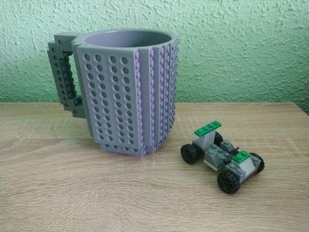 Kubek w stylu LEGO
