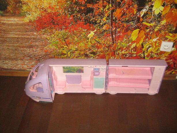 camper barbie pociąg dla lalek na baterie