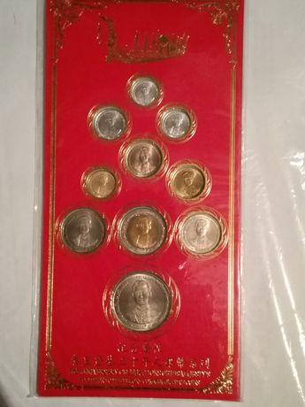 Набор юбилейных монет в честь - 50 лет правления короля Тайланда 1996