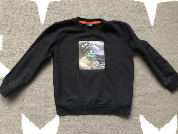 Pepeco bluza 3 d zielony ufoludek ufo 110cm