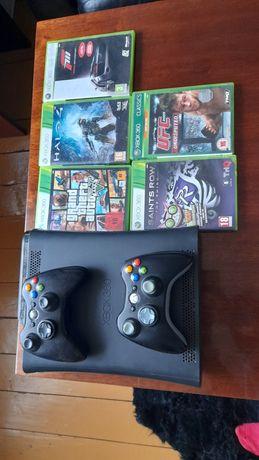 Xbox360 dwa pady 5gier