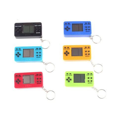 Тетрис игра - брелок / Ретро игра / Game Boy / Tetris / Консоль