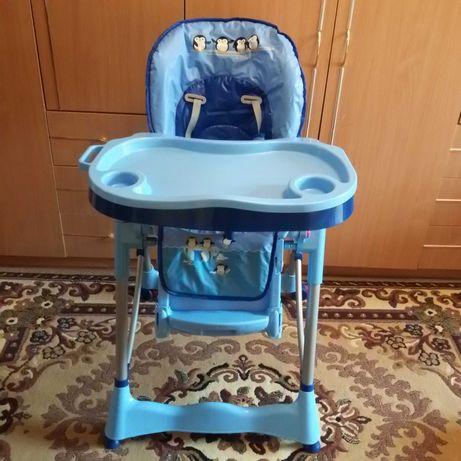 Стульчик для кормления Caretero Magnus Fun Blue