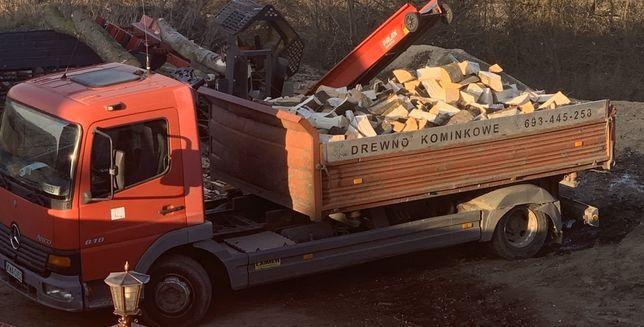 Drewno kominkowe opałowe+DOSTAWA GRATIS
