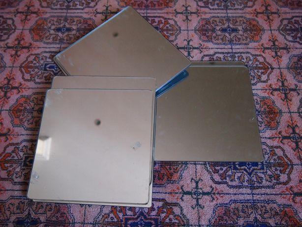6 Espelhos Autocolantes 20x20cm