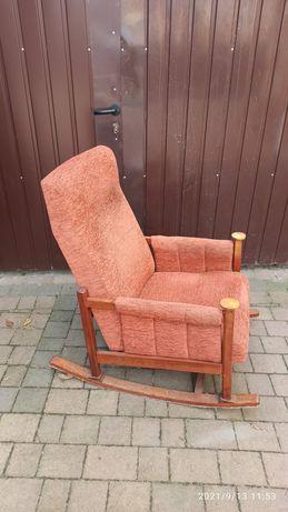 Fotel bujany Głęboki Wygodny