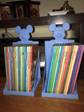 Coleção completa de livros da Disney
