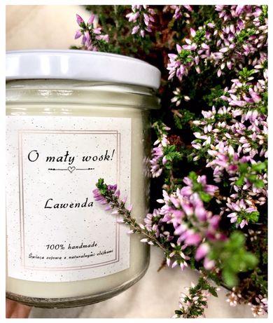 Świece sojowe z naturalnymi olejkami 100% handmade