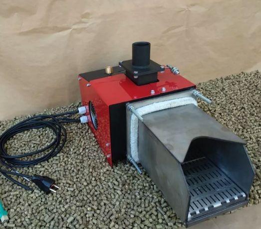 Автоматическая пеллетная горелка 20кВт пальник в котел. Отопит 200м2