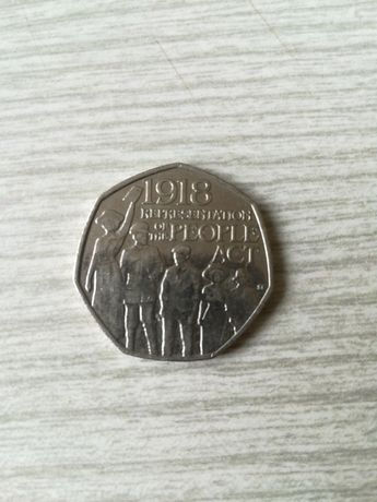 Moneta 50 pence