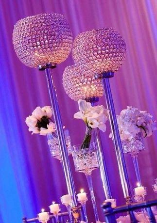 Хрустальный кубок для декора свадьбы