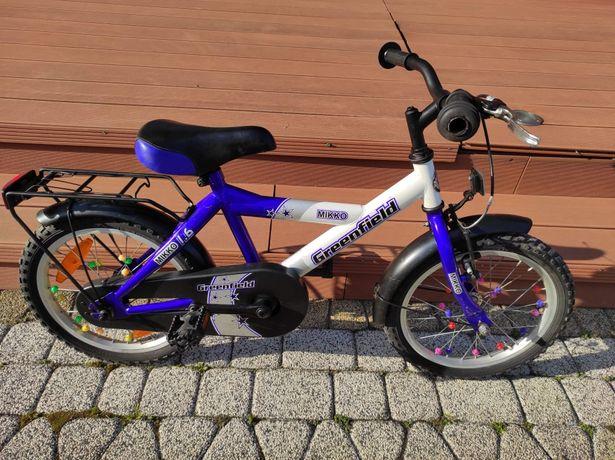 Sprzedam ładny rowerek dziecięcy 16 cali!