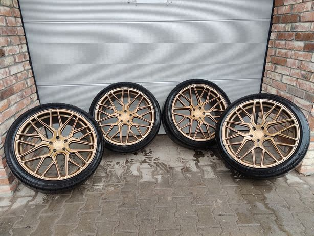 "Felgi 21""  ROHANA rfx10 5x112 + Dunlop 275/35/21"