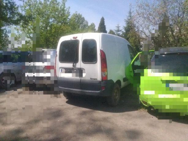 Renault Kangoo biały 1.9 diesel auto na części