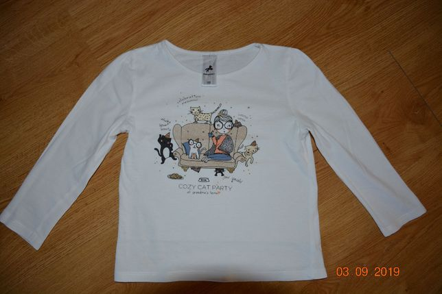 Bluzka krem roz. 122