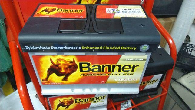 Akumulator Banner Running Bull EFB 12V 70Ah 660A P+