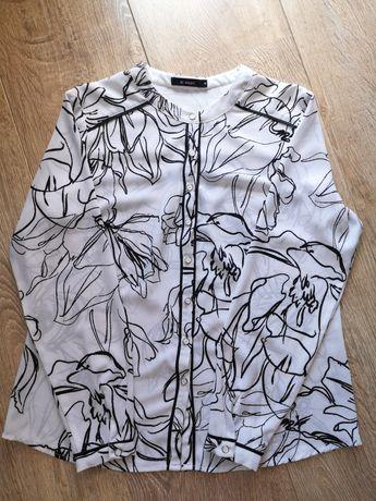 Elegancka koszula z kwiatowym wzorem Monnari