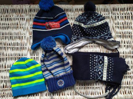 Czapka czapki zimowe chłopięce r 98-104