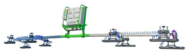 Chwytak Przyssawka próżniowa do płyt warstwowych DS550max do 1000kg
