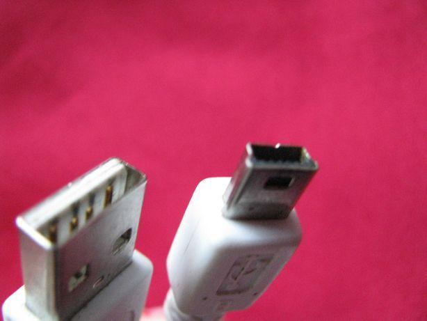Продам Кабель Mini USB в USB, Шнур Мини ЮСБ, Длина 0,8 м  transcend
