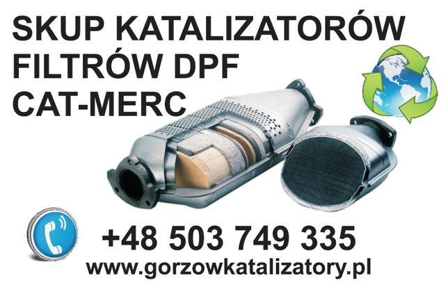 Skup KATALIZATORÓW Gorzów ,Kostrzyn, Myślibórz, Dębno, Słubice,Rzepin