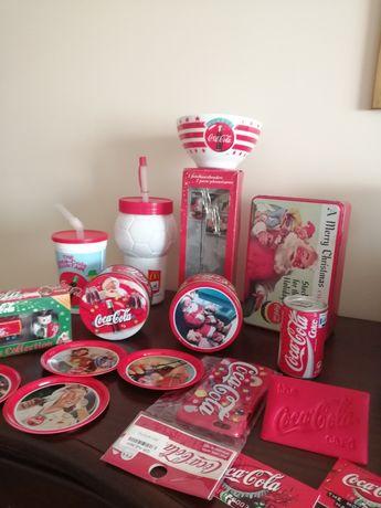 Coca cola - Piłka, tace, pudełka, bidony